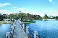 万代池公園 約530m(徒歩7分)