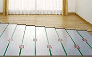 温水を循環させて暖めるTES温水式床暖房を設置。自然な風でホコリを巻き上げることもなく、心地よく体を温めます。
