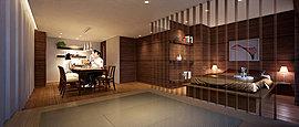日本の様式美をモダンに再現したゲストルーム「Japanese Modern」