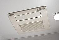 美容・健康効果が期待できるミストサウナ付浴室暖房乾燥機を採用。また、冬の寒い日には、あらかじめ浴室を暖房しておくこともできます。