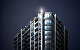 駅2分の希少なこの邸宅地に、新たなランドマークを創出する。免震タワー、全195邸。