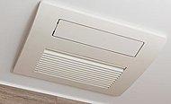 換気機能をはじめ、夜間や雨天時の衣類乾燥に便利な乾燥機能、暖房機能も搭載。冬場入浴前の予備暖房でヒートショック防止にも役立ちます。