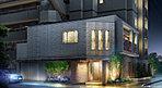 邸宅に相応しいマテリアルにこだわった上質なデザインを追求