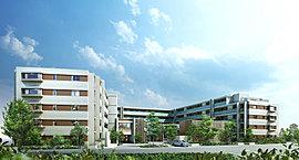 成熟した街並が広がる駅前の緑に寄り添う、とっておきの新街区。西武拝島線「西武立川」駅より徒歩3分、駅前から美しく整備された街並をみせる住宅エリア。