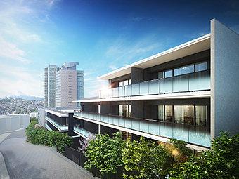 全99邸の美しき低層庭園邸宅、「ザ・マスターズガーデン横濱上大岡」。