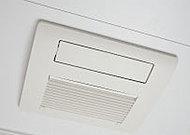 雨天時などの洗濯物の乾燥に活躍する浴室暖房乾燥機を設置しています。