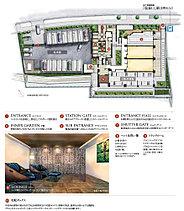 集合邸宅ならではの利便性と快適性を追求したランドプラン。