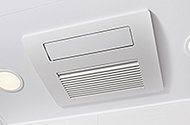 雨の日の洗濯などに便利な、浴室暖房乾燥機を設置しています。