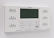 スイッチひとつで設定した温度・水位でのお湯張りができ、追い焚きや湯温変更もワンタッチ。キッチンのリモコンでも操作でき通話機能も備えています。