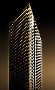 地上43階、総311邸の免震タワーレジデンス