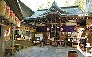 少彦神社 約480m(徒歩6分)