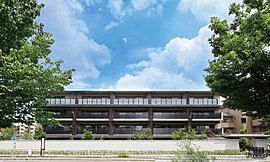 京の風情漂う照明が出迎えるエントランスホールには、落ち着きあるラウンジスペースを設置。坪庭の枝垂紅葉や行灯の優しい灯りが心地よいひと時を演出します。