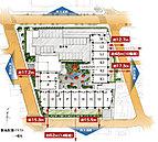 四方道路による開放的な環境。四方に道路が配され周辺の建物との距離を確保できる敷地を持って誕生する「パークホームズ亀有 ガーデンズコート」。通風・採光、プライバシー性など、様々なメリットを享受することができます。