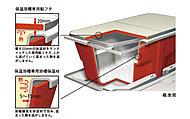 浴槽を断熱構造にすることにより、バスタブのお湯の温度を長時間キープできます。