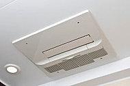 衣類の乾燥や、入浴時の暖房、涼風など多彩な機能を備えた浴室暖房乾燥機を採用。雨の日の洗濯物干しや、カビの予防にも効果的です。