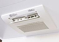 換気・暖房・乾燥・涼風の基本機能に、4つのタイプのミスト機能をプラス。浴室カビ抑制、衣類脱臭などの機能も搭載しています。