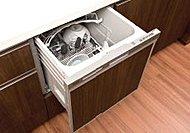 少量の高温のお湯で循環洗浄をすることにより、効率的で清潔に洗いあがります。※詳しくはメーカーホームページ等をご参照ください。