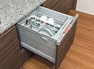 片付けの手間を省き、手洗いに比べてランニングコストのセーブも期待できます。※詳しくは三菱電機等のホームページをご参照ください。