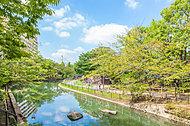 仙台堀川公園 約270m(徒歩4分)