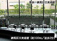 練馬区立美術館 約100m(徒歩2分)