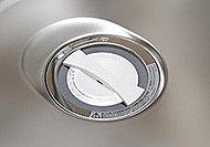 生ゴミを粉砕して水と流せるディスポーザーをキッチンシンクに内蔵。※生ゴミの種類により粉砕できないものがあります。