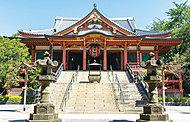 泰叡山護國院 瀧泉寺(目黒不動尊) 約840m(徒歩11分)