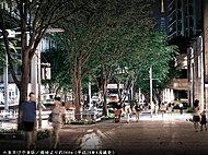 六本木けやき坂 約360m(平成28年6月撮影)