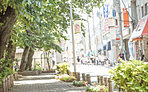 ■ウルトラマン商店街(現地より約310m・平成27年5月撮影)