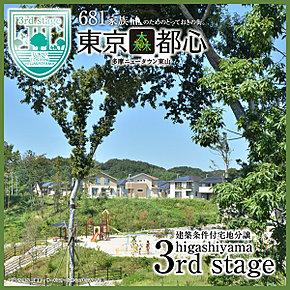 東京森都心 多摩ニュータウン東山 建築条件付宅地分譲 3rd stage 平成25年9月撮影