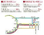 ※アクセス図 ※所要時間は通勤時のものであり時間帯により異なります。乗換・待ち時間は含まれません。