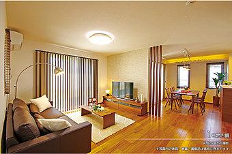 [1号地 内観]平成27年5月撮影 ※写真内の家具・家電・調度品は価格に含まれます。
