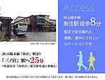 ※周辺施設(JR魚住駅 平成28年9月撮影)