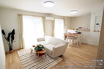 [2号地 内観]平成28年11月撮影 ※写真内の家具・調度品は価格に含まれません。