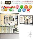 [6号地 プラン図] 図面を基に描いておりますので、プラン及び外構・植栽などは実際と多少異なる場合があります。また、家具・家電・備品などは販売価格に含まれません。