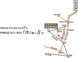 ※アクセス図:電車所要時間は日中平常時のものであり時間帯により異なります。