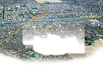 美しくつながりあう街~平成27年12月ついに地下鉄東西線開通!~