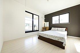 モデルハウス 主寝室