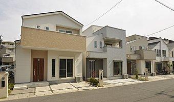 自由設計で建てる屋上庭園「ソラニワの家」提案イメージ 当社施工例(分譲済)