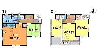 間取り図 4LDKロフト付