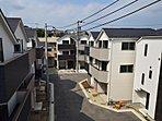 ◆現地写真◆ プライマルガーデン本郷台 駅徒歩平坦5分の全35棟のビックプロジェクト!