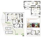2号棟:敷地面積/200.45m2(60.63坪) 建物面積/114.88m2(34.67坪)