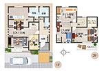 3号モデルハウスプラン図