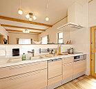 1号地モデルハウス キッチン