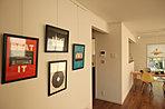(3-5-15号地)2階の中心にStudyを設置。家族みんなが集まるスペースとしました。