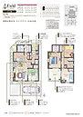 6号棟間取り 家族が増えても安心!2F主寝室に間仕切りをつけ、1部屋を2部屋に変更できます(オプションになります)。