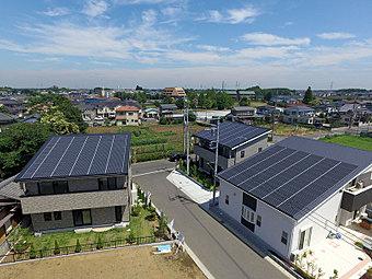 高気密・高断熱のオール電化・太陽光発電住宅です!