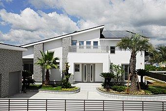 当社施工例:太陽光発電システム搭載住宅