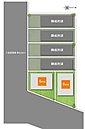 参考プラン(自由設計) 全居室6帖以上のゆったりとしたプランです。17.5帖の2階リビングは開放感たっぷりです。
