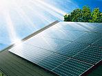 【太陽光発電】太陽光発電システムを標準装備。日中に発電、テレビや冷蔵庫など家電に使用したり、余剰電力は売電も可能です。まぶしい太陽の下で、地球に優しいエコな生活が始まります。