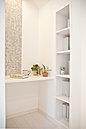 カウンター:キッチン横に設けられた「ミズカウンター」は趣味や家事の空間として重宝します(平成28年4月撮影)